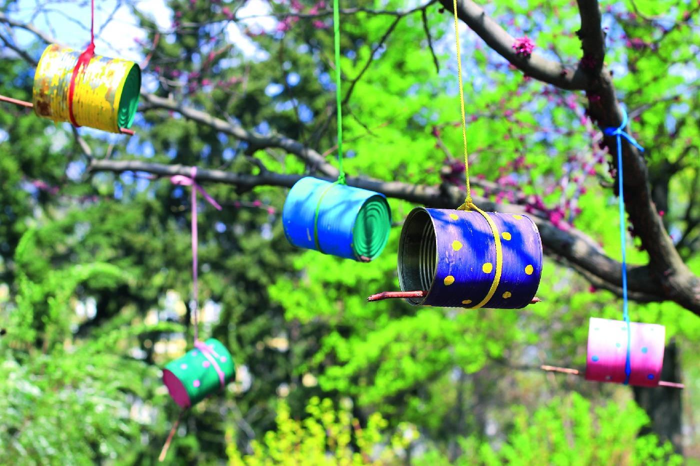 Jednorazówki W Ogrodzie Meble I Doniczki Z Recyklingu E