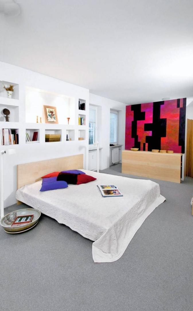 Sypialnia Za Głową ładny Dom