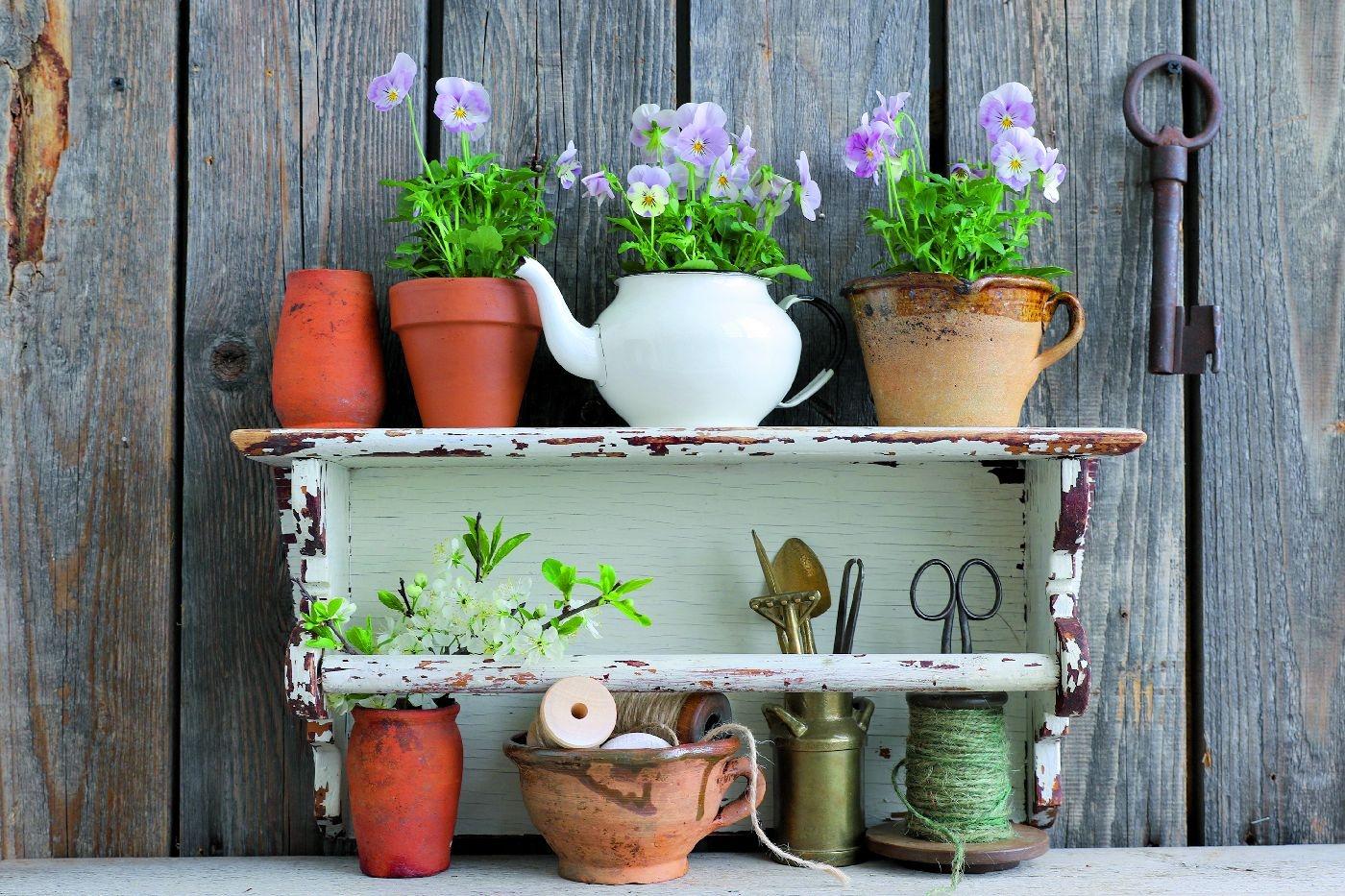 Doniczki Z Odzysku Recykling W Ogrodzie Renowacja E Ogrody