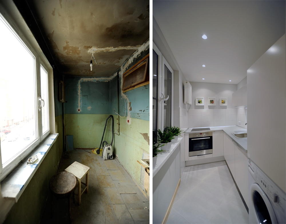 Metamorfoza 36 Metrowego Mieszkania W Bloku ładny Dom