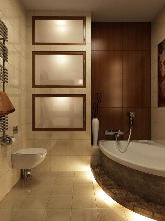 Mała łazienka Zasady Projektowania ładny Dom