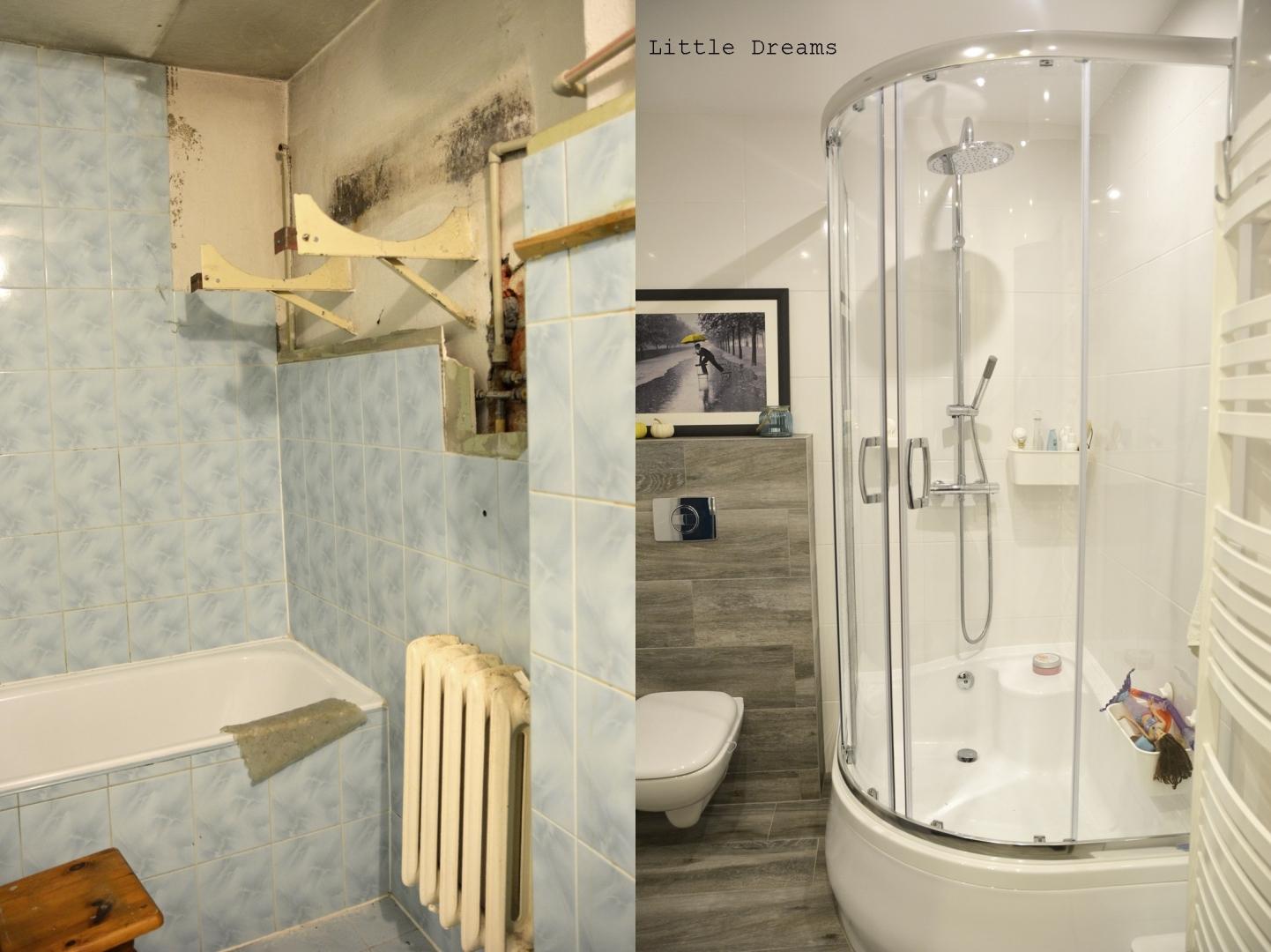Metamorfoza Małej łazienki Z Lat 70