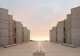 Instytut Salka po renowacji, projekt: Louis Kahn