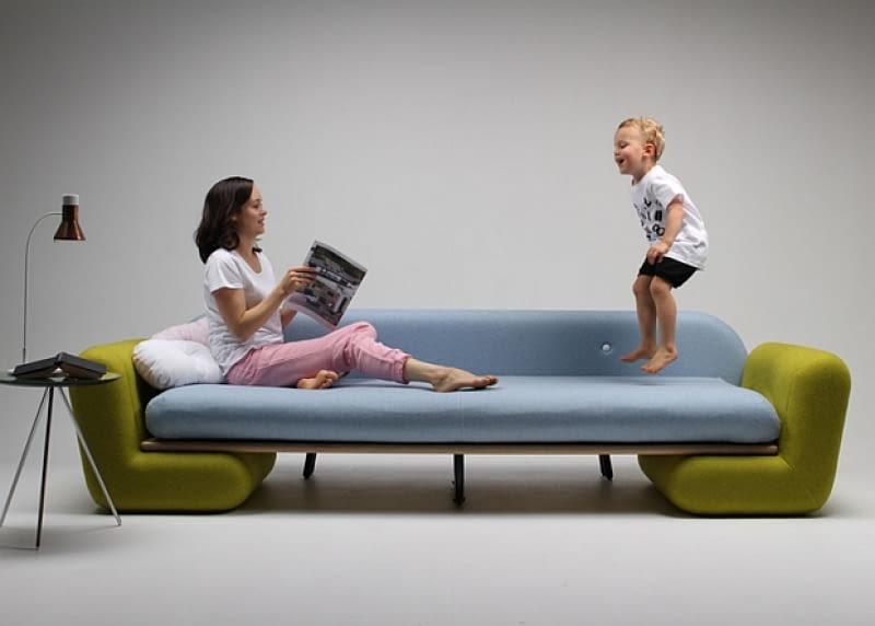 sofa, mebel, plac zabaw, projektanci, design, dzieci