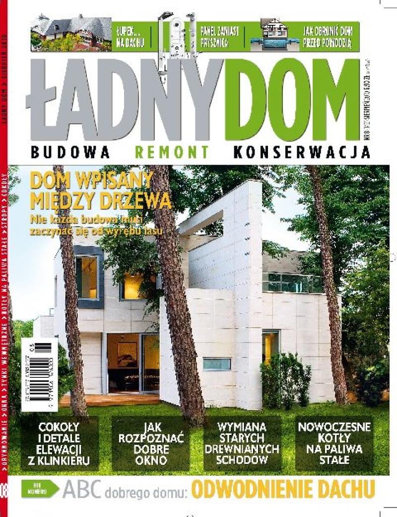 miesięcznik Ładny Dom - numer sierpniowy