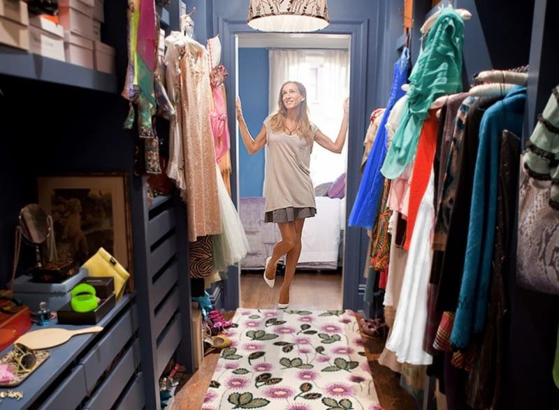 Seks w wielkim mieście, garderoba Carrie Bradshaw
