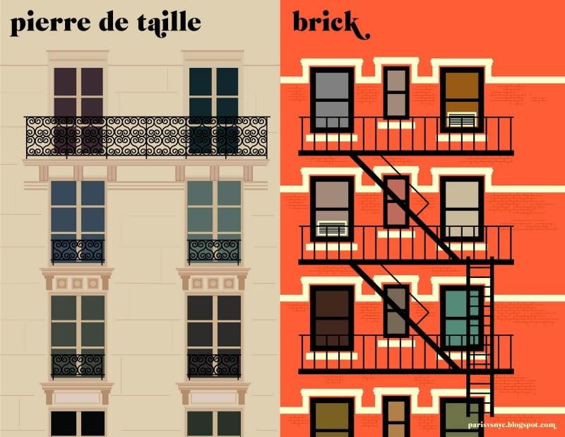 Książka 'Paris vs New York, a tally of two cities' ukaże się 2 listopada.