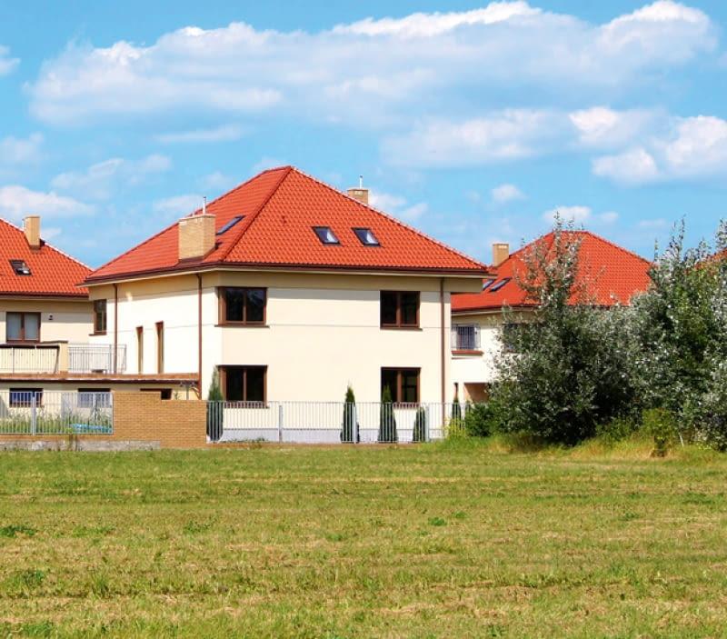 osiedle domów jednorodzinnych, dom jednorodzinny