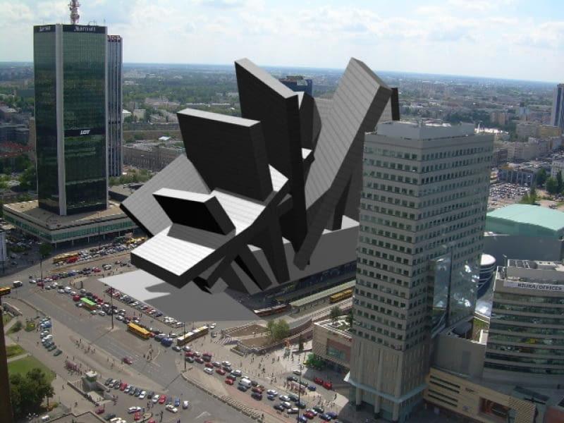 Nowy Dworzec Centralny w Warszawie
