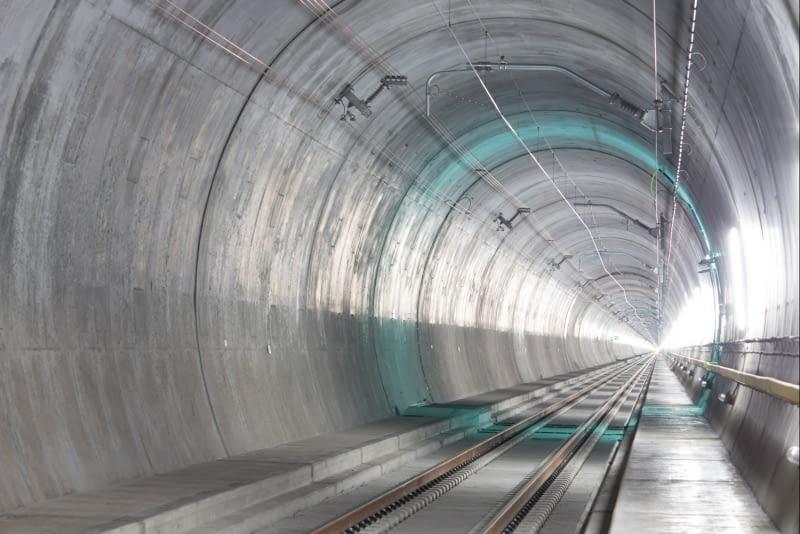 Właśnie Otwarto Najdłuższy Tunel Na świecie Podróż Przez Alpy