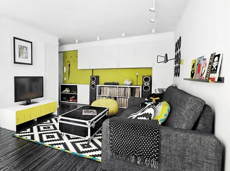 nowoczesne mieszkanie, mieszkanie dla singla, jak urządzić mieszkanie