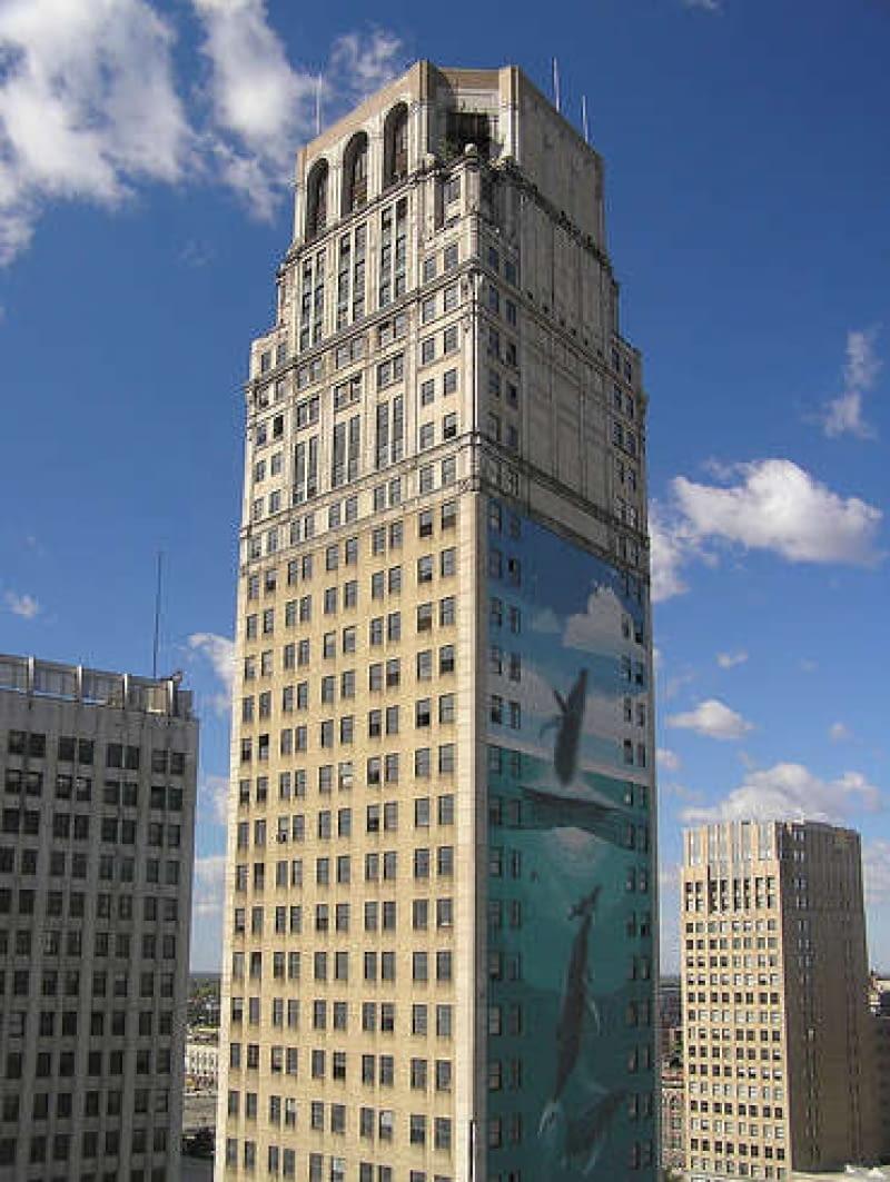David Broderick Tower