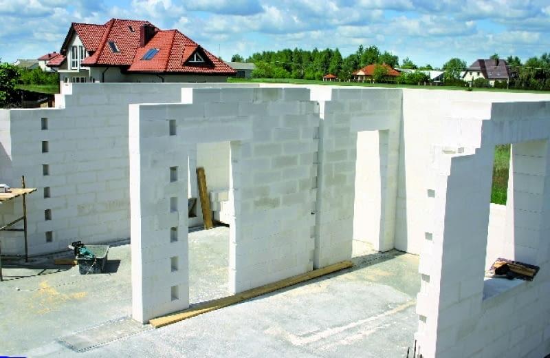 budowa domu,ściany zewnętrzne