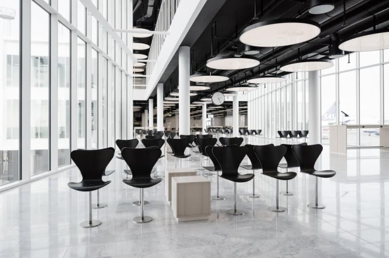 Rozbudowany pirs lotniska w Kopenhadze