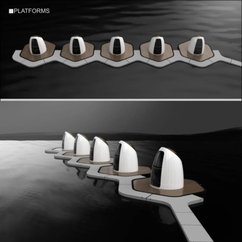 """""""Moduł hotelowy do zastosowania w środowisku wodnym"""""""