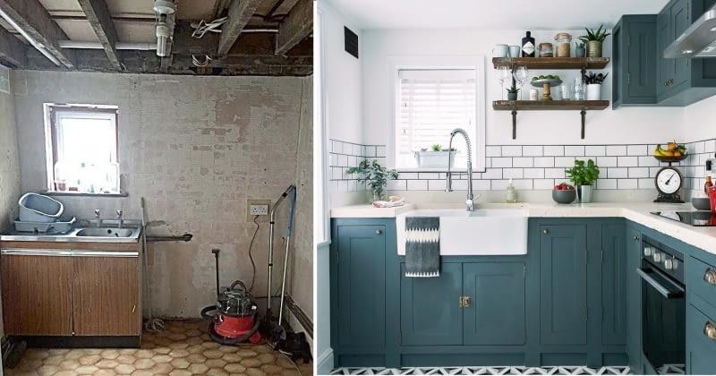 Stylowa Metamorfoza Małej Kuchni ładny Dom