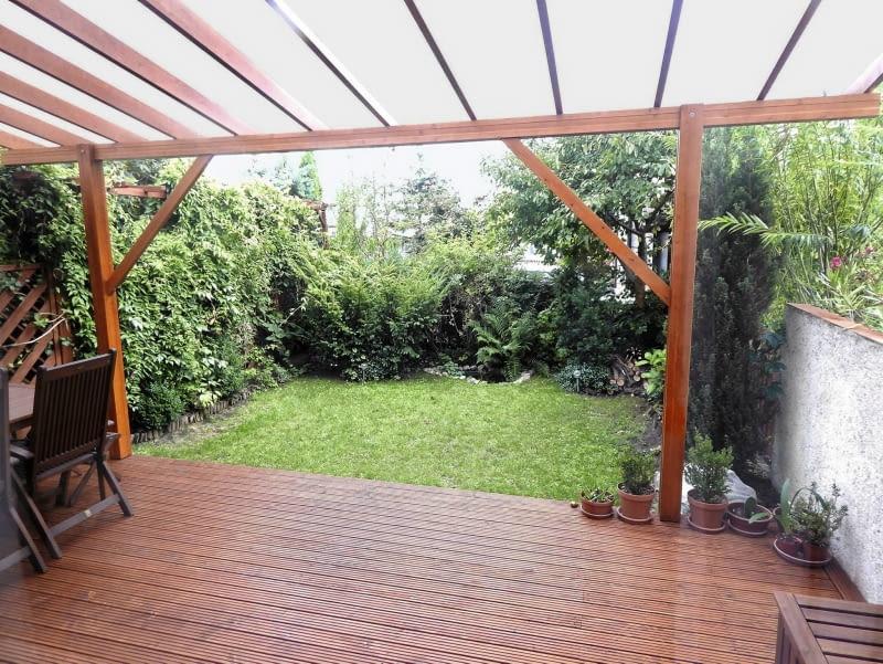 ogródek za domem