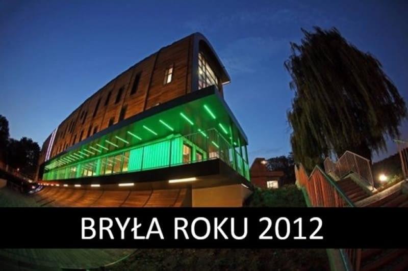 BRYŁA ROKU 2012, Przystań na Wyspie Młyńskiej w Bydgoszczy, proj. APA Rokiccy