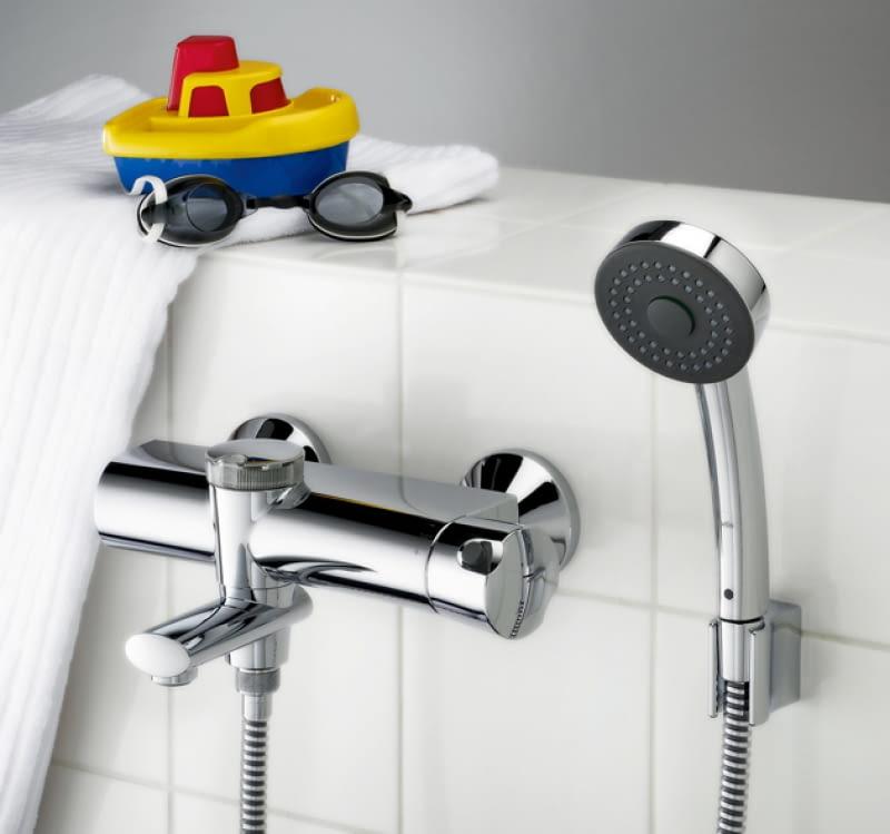 Podłączyć prysznic kran
