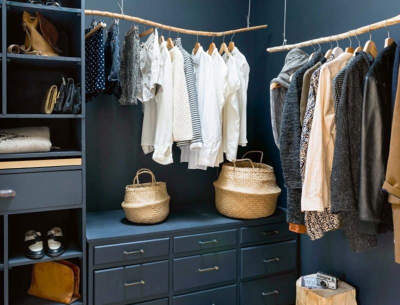 Projekt Garderoby O Czym Należy Pamiętać ładny Dom
