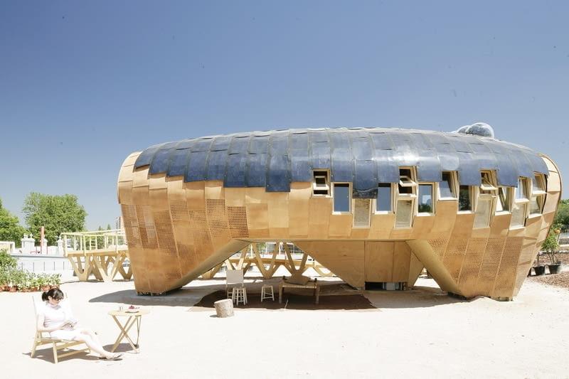 zrównoważone budownictwo, ekologia, zielona architektura, hiszpania, dom
