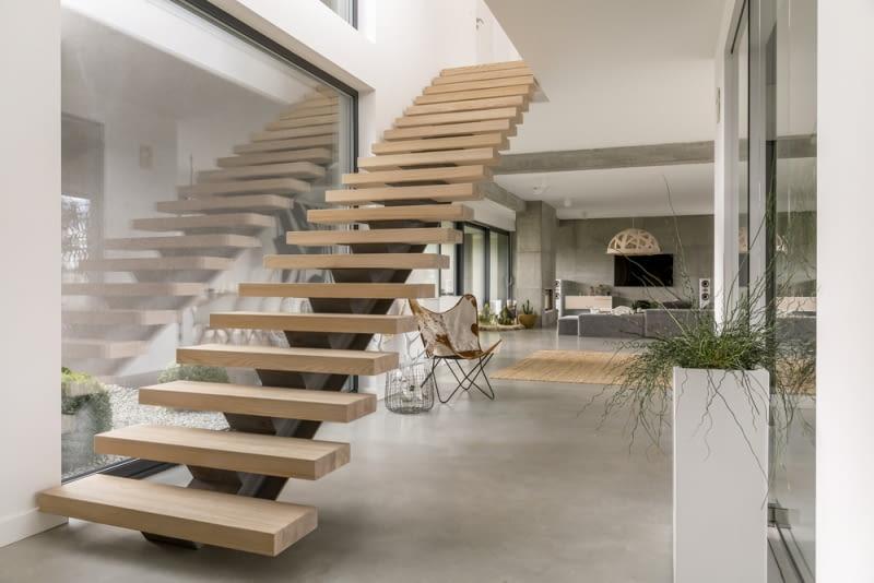 Rodzaje gotowych schodów