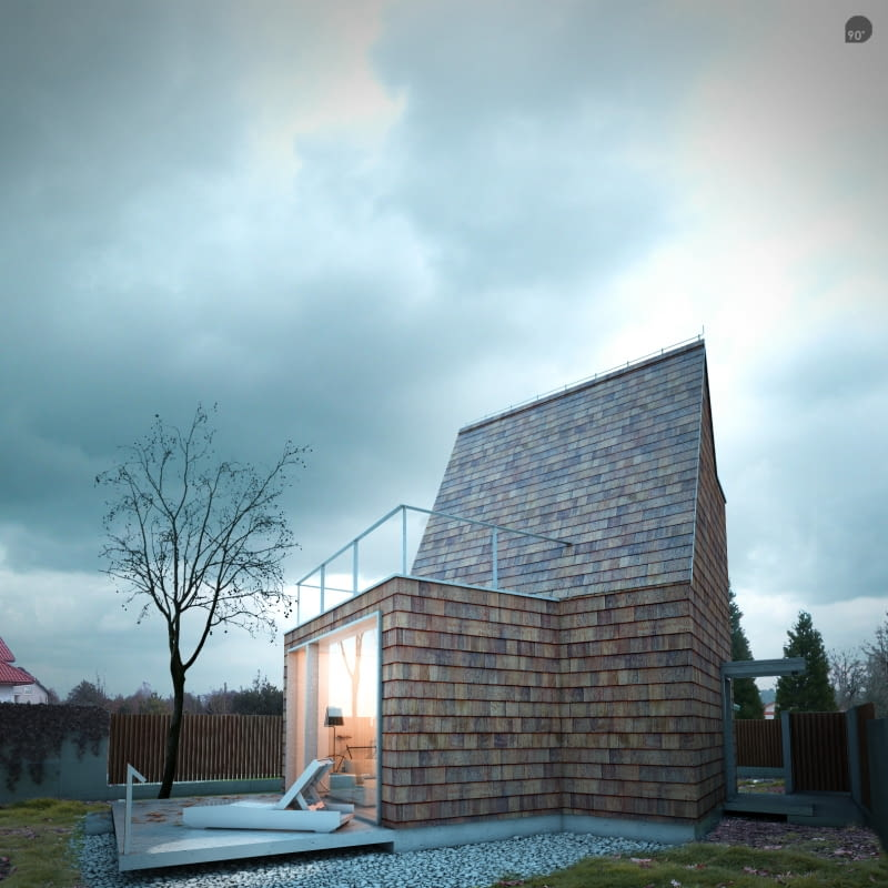 """""""Dom mały"""" - projekt"""