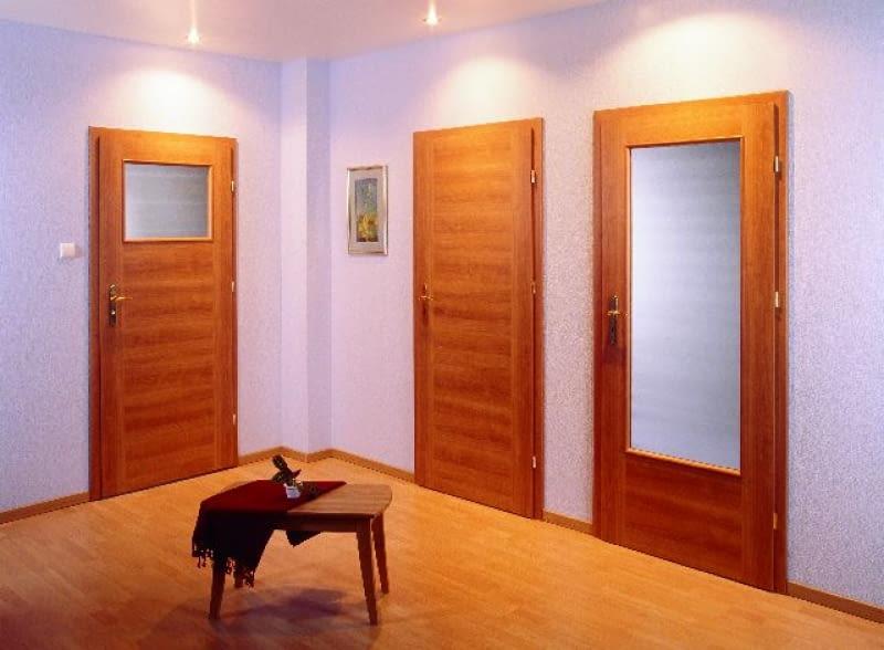 Drzwi Wewnętrzne Z Jednej Kolekcji