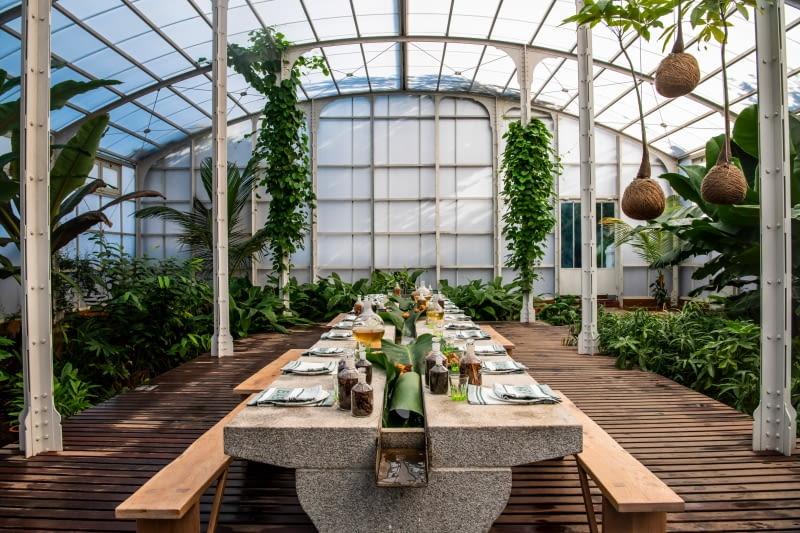 Restauracja Spice Garden. Proj. Malherbe Rust Architects
