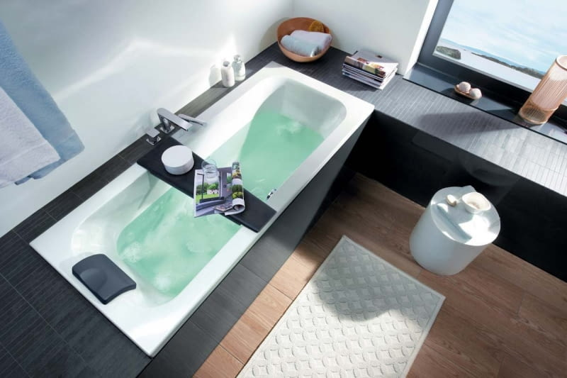 Aranżacja wygodnej łazienki