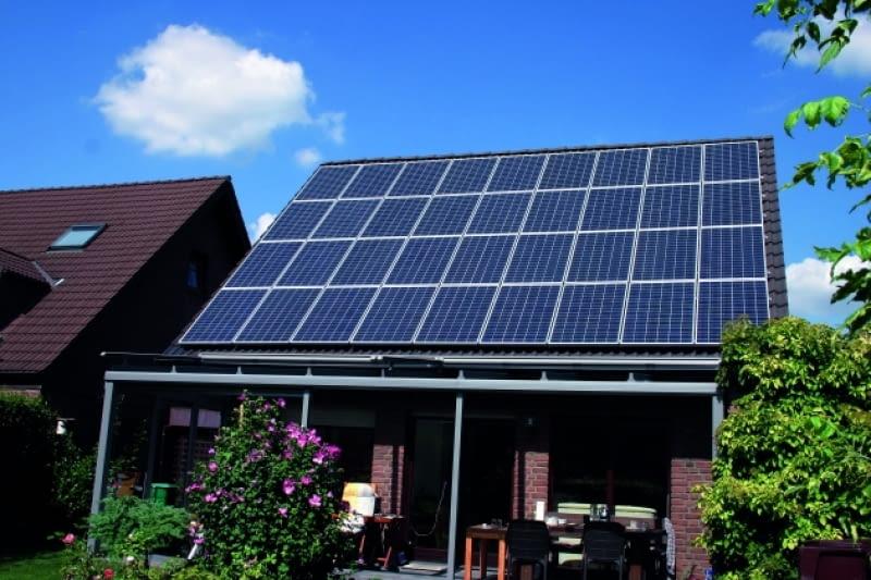 Panele osiągną wysoką sprawność, gdy ułożymy je na południowej połaci dachu