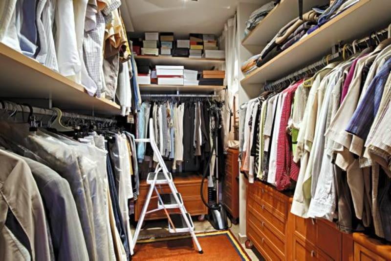 Garderoby Przy Wejściu I Przy Sypialniach ładny Dom