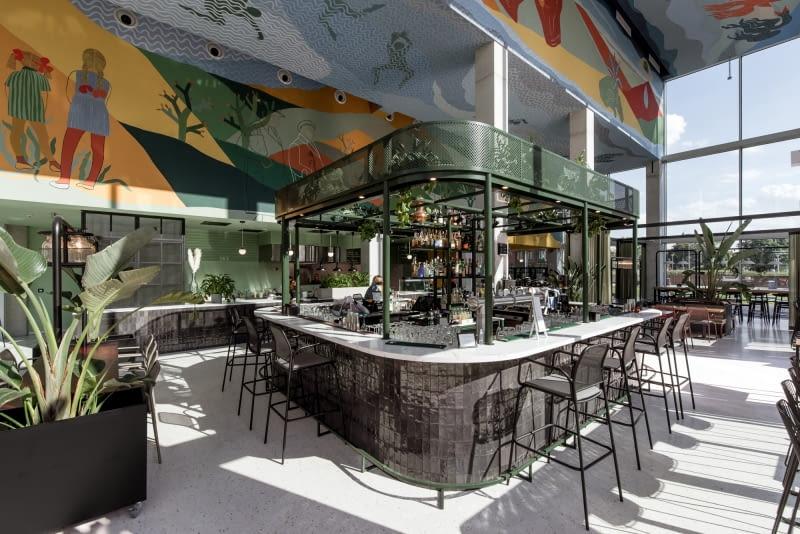 Restauracja W Budynku Concordia Design Wroclaw Wnetrza Zaprojektowala Mode Lina Bryla Polska Architektura