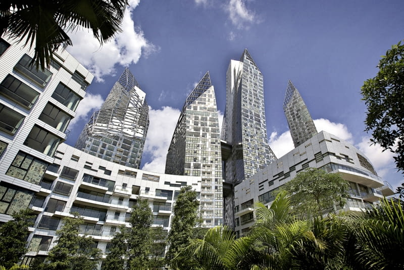 Reflections at Keppel Bay, fot. Kepple Bay Pte Ltd (www.libeskind.com)
