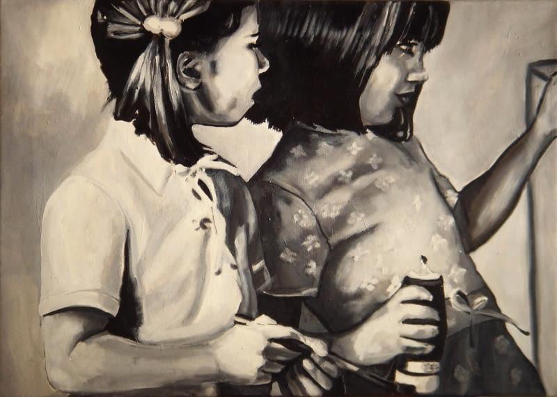 Bez tytułu, 60 x 80 cm, olej na płótnie, 2008