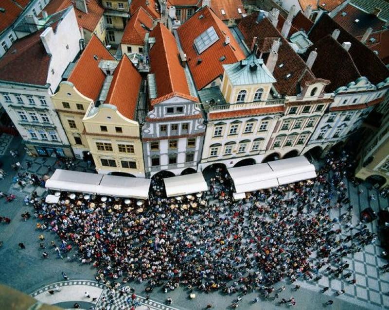 Ponad dachami miasta - Praga