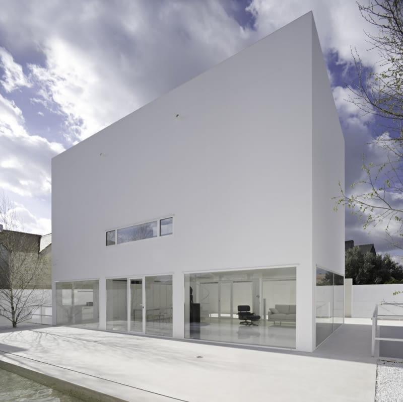 alberto campo baeza, minimalizm, hiszpania, dom jednorodzinny