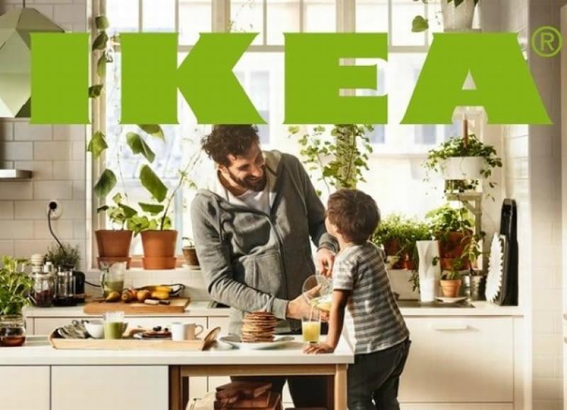 Fragment okładki nowego katalogu IKEA 2016