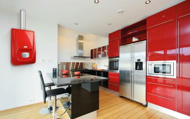 gazowy kocioł kondensacyjny, kuchnia