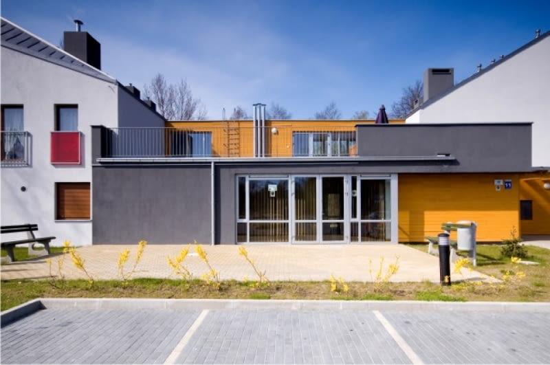 Zespół segmentów mieszkalnych dla osób w podeszłym wieku w Stargardzie Szczecińskim, projekt- DOMINO Grupa Architektoniczna Wojciech Dunaj