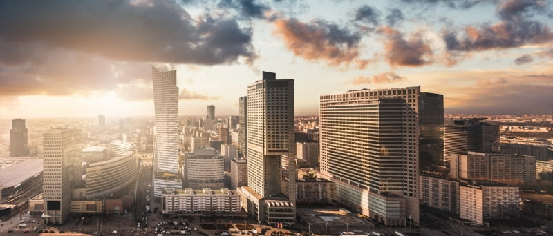 W Warszawie rośnie najwięcej wież w Europie