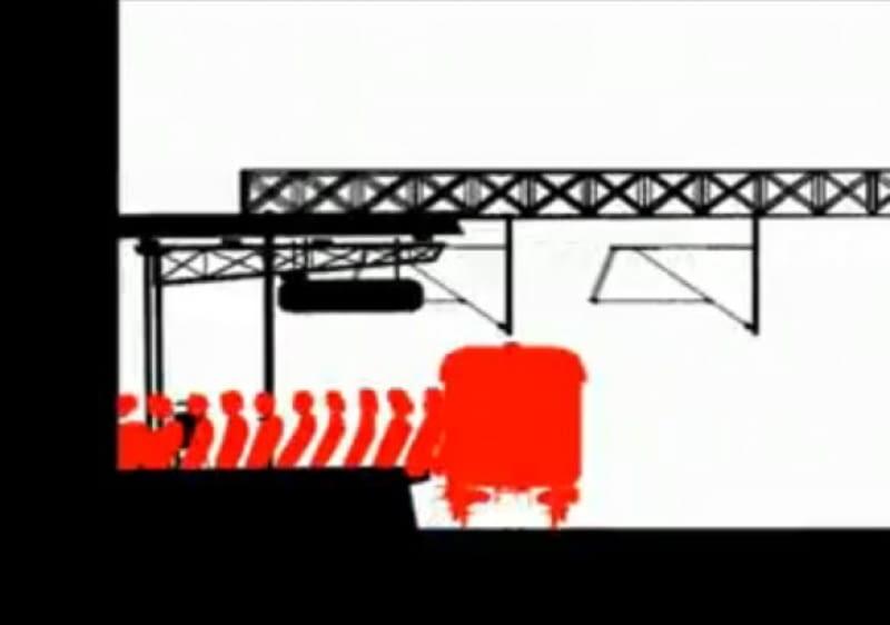 Kadr z filmu Roberta Procha, pt. Virus