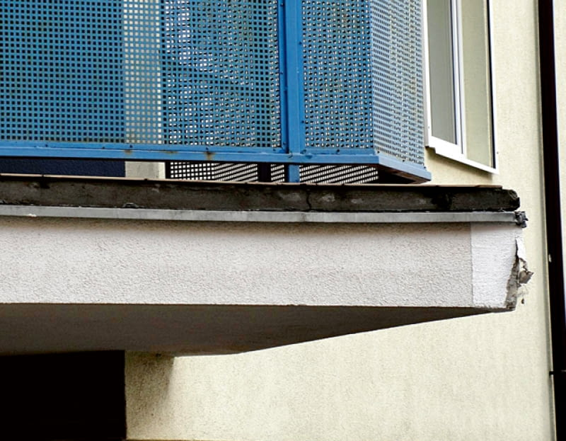 izolacja balkonów, izolacja balkonu