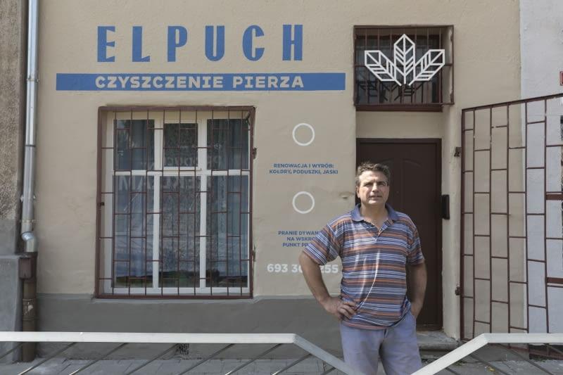 """Zakładu Czyszczenia Pierza """"Elpuch"""" w Elblągu"""