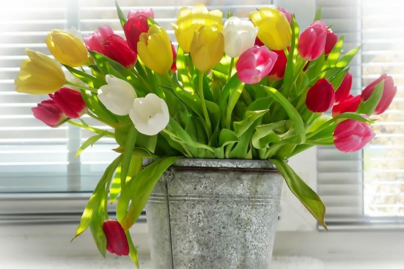 Niedrogie wazony na wiosenne kwiaty [do 50 i do 100 złotych] - Ładny Dom