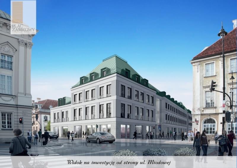 Plac Zamkowy - Business with Heritage - nowa inwestycja na warszawskiej Starówce