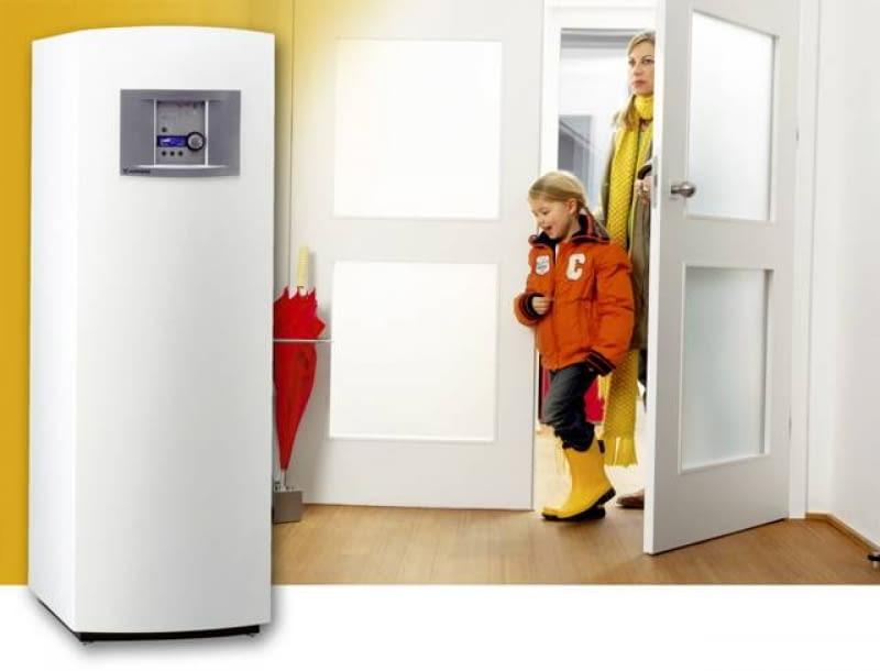 Kompaktowa pompa ciepła - w jednej obudowie znajdują się pompa i zasobnik ciepłej wody
