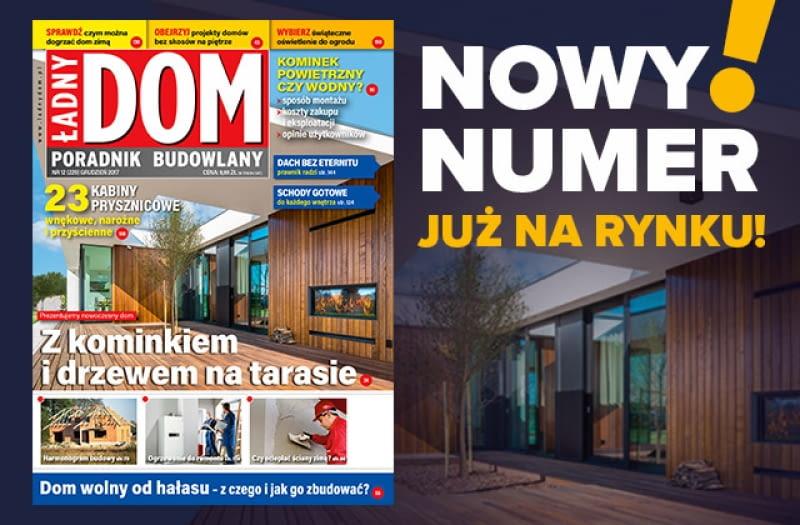 Nowy numer miesięcznika 'Ładny Dom' już w sprzedaży