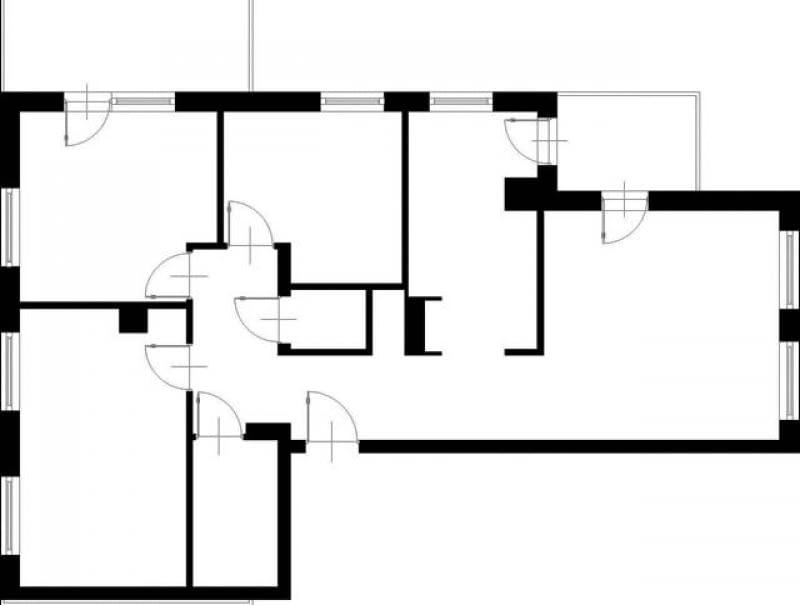 Projektowanie. 89,6 m kw. czteropokojowe dla 4 osób