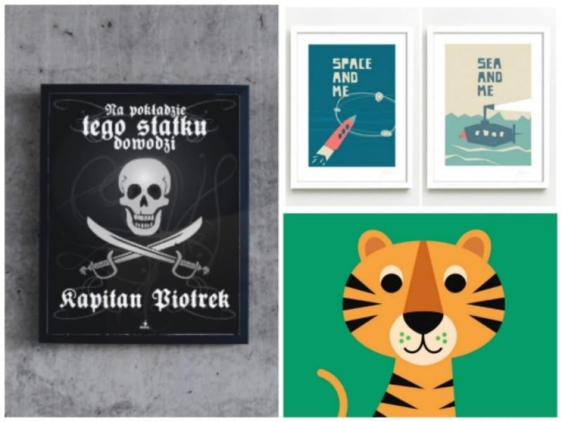 plakaty, pokój dziecięcy